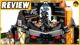 Garmadons Volcano Lair Review - Lego Ninjago Movie - 70631