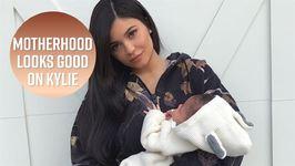 Kylie Jenner Celebrates Stormi's One Month Birthday