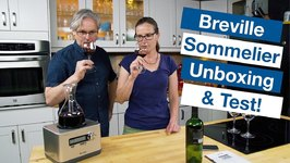 Breville Sommelier Wine Decanter Unboxing And TEST