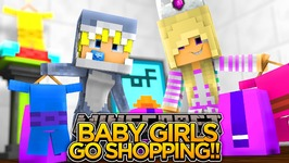 BABY LEAH IS LOST IN THE MALL! - Minecraft - Little Donny Adventures
