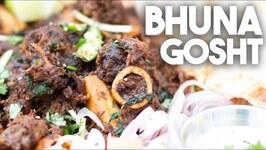 Bhuna Gosht - Dry Spiced Meat
