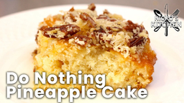 Do Nothing Pineapple Cake -  Any More Effort And You'll Fall Asleep!