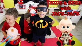 HIDE & SEEK with JACK-JACK - INCREDIBLES 2 - DEION'S PLAYTIME