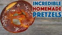 How To Make Amazing Soft Pretzels - Lye Dipped Recipe