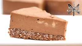 Keto Chocolate Cheesecake/ No Bake Low-Carb Dessert