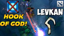 Levkan Pudge HOOK OF GOD Dota 2