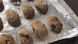 Coconut Cookies - Nariyal Biscuits - Easy Homemade - Hindi