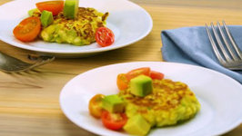 Fitter Corn Fritters With Avocado