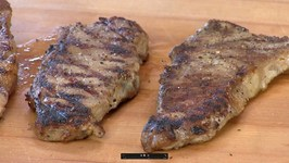 Four Freeze Dried NY Strips - Four Different Ways And Finished On The Grill!