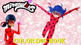 Miraculous Ladybug Coloring Book Pages Kids Art