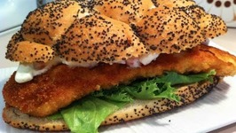 Chicken Schnitzel Burgers Recipe Video By Nickoskitchen Ifood Tv