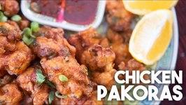 Crispy Chinese Chicken Pakoras / Hakka Style Appetizer