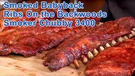 Smoked Babyback Ribs On the Backwoods Smoker Chubby 3400