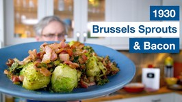 1930 Brussels Sprouts And Bacon