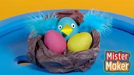 Mister Maker's Paper Bird Nest