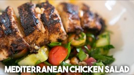 How To Eat Healthier - Mediterranean Chicken Salad