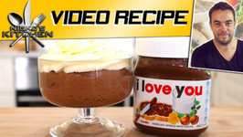 Nutella Mousse - Valentines Day Recipe Only 3 Ingredients