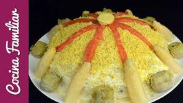 Ensaladilla rusa con marisco - Recetas caseras - Como hacer ensaladilla rusa