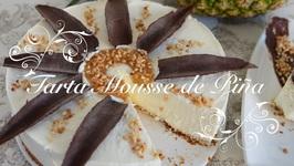 Tarta Mousse de Pina ( sin horno) )  Tarta De Pina Sin Horno  Tarta De Pina   Recetas De Cocina