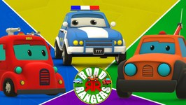 Road Rangers - The Burglar -  Car For Kids - Ep 01