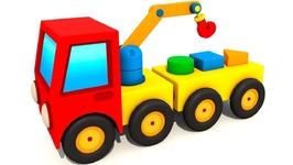 Excavator Max Cartoon Max the Excavator Builds a Crane-  Car Toys Funny Cartoons