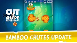 Cut the Rope- Experiments - Bamboo Chutes update