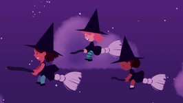 Three Little Witches - Halloween Songs for Children - Halloween for Kids