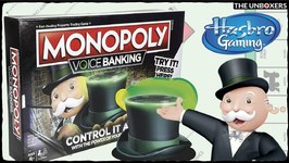 NEW Monopoly Voice Banking Game  Control the Game with the Power of Your Voice