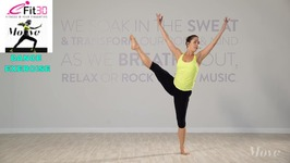 Dance Basics - Contemporary For Flexibility And Strength - Move123 - 20 min Emma