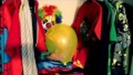 SCARY CLOWN IN CLOSET