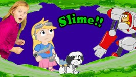 The Adventures Of The Assistant And Wiggles Episode 6 - A Problem With Slime