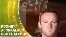 Wayne Rooney, víctima de sus problemas con el alcohol