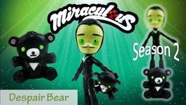 Miraculous Ladybug Season 2 Episode 2 Despair Bear Toy Doll Custom Tutorial