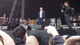 Jeremy Corbyn Whips Up the Crowd at Libertines Gig