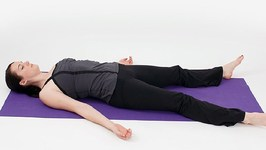 Beginners Yoga for Relaxation of Body and Mind - Shavasana, the Corpse Pose