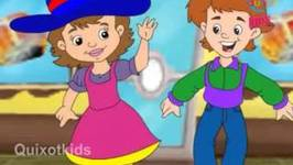 Hot Cross Buns Nursery Rhyme With Lyrics - Cartoon Animation Rhymes & Songs For Children