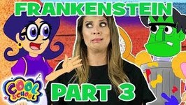 Frankenstein Part 3 - Story Time with Ms. Booksy - Cartoons for Kids