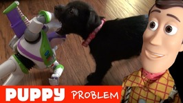 Toy Story 4: Puppy Problems! Woody Buzz Lightyear Slinky Dog - Disney Pixar