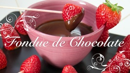 Fondue De Chocolate / Como Hacer Fondue De Chocolate / Fondue De Chocolate Receta