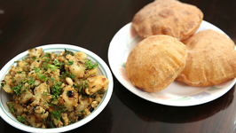 Upvas Rajgira Puri And Aloo Sabzi - Vrat Puri Aloo Sabzi - Shravan Special Aloo Puri Recipe