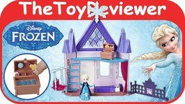 Disney Frozen Little Kingdom Royal Chambers Magical Movers Unboxing Toy Review