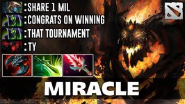Miracle WORLD CHAMPION Shadow Fiend Dota 2
