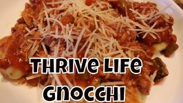 Gnocchi With A Red Sauce Made With Thrive Life