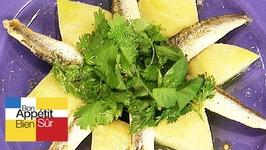 Salade d'artichauts aux filets d'anchois marinés