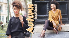Paris Into FalL - Autumn Lookbook d'Automne