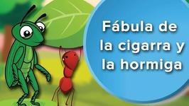 Fábula de la Cigarra y la hormiga para niños. Fábula con valores