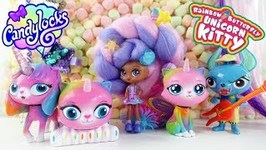 New CandyLocks Doll and Rainbow Butterfly Unicorn Kitty Toy Review