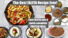 OMG - The Best FAJITA Tofu Recipe Ever - Homemade Mexican Seasoning
