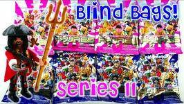 Playmobil Blind Bags Series 11 Figure Mystery Pack Openings