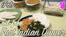 Quick Indian-Style Dinner For A Busy Night